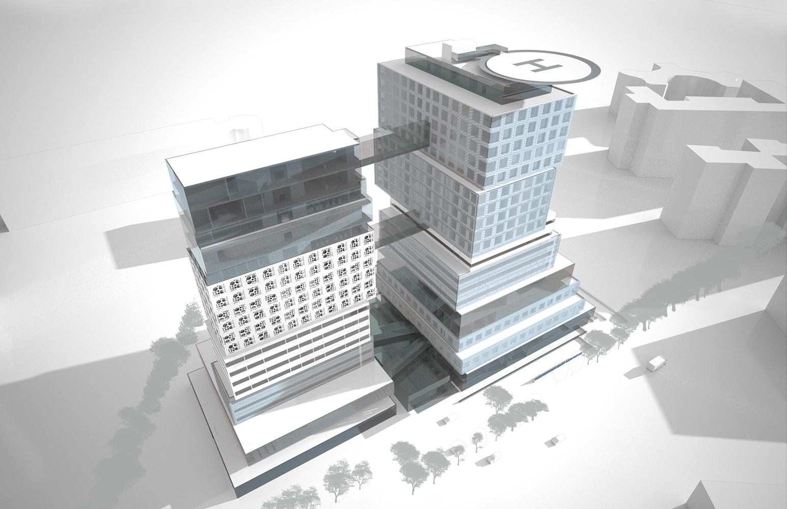 Private Hospital Volgograd - Moser Architects