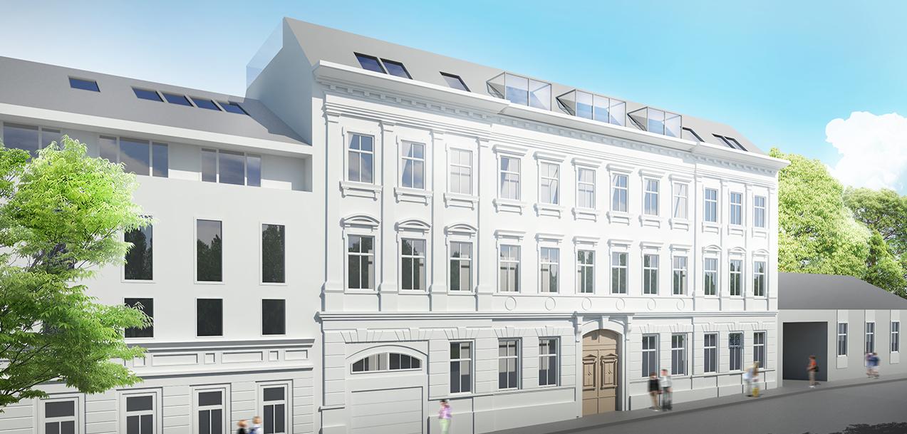 Residential Building on Cumberlandstrassse