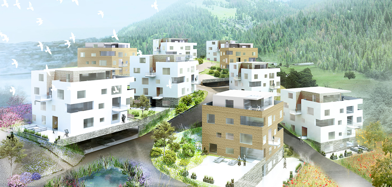 Architectural Competition Gut Guggenthal